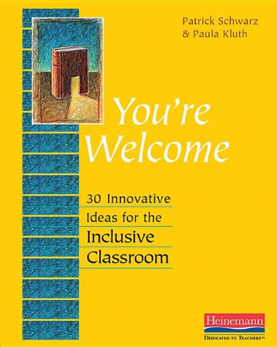You're Welcome 30 Innovative Ideas for the Inclusive Classroom  2013 edition cover