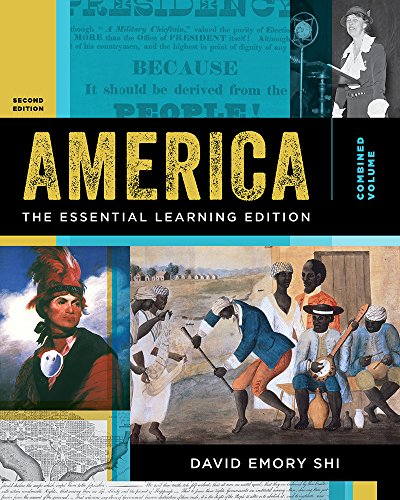 America: the Essential Learning Edition  2nd 9780393640960 Front Cover