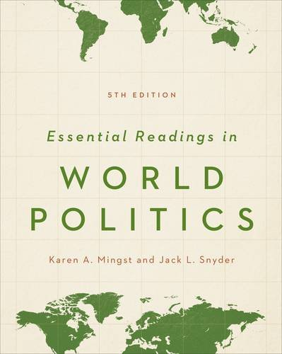 Essential Readings in World Politics:   2013 edition cover