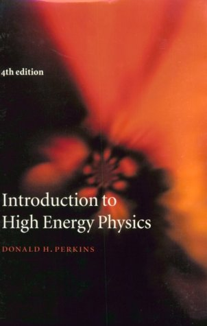 Introduction to High Energy Physics  4th 2000 (Revised) edition cover