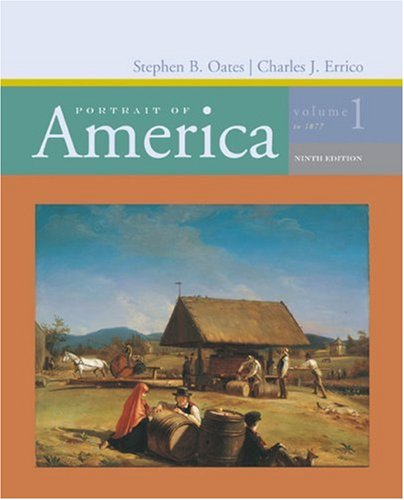 Portrait of America to 1877  9th 2007 edition cover