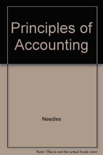 Needles Principles of Accounting Plus Your Guide to an A Passkey Tenthedition  10th 2008 9780618949960 Front Cover