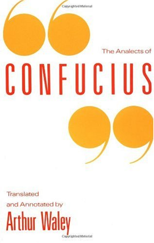 Analects of Confucius   1989 edition cover