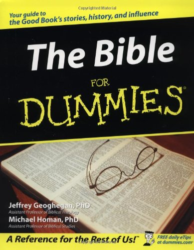 Bible for Dummies   2003 9780764552960 Front Cover