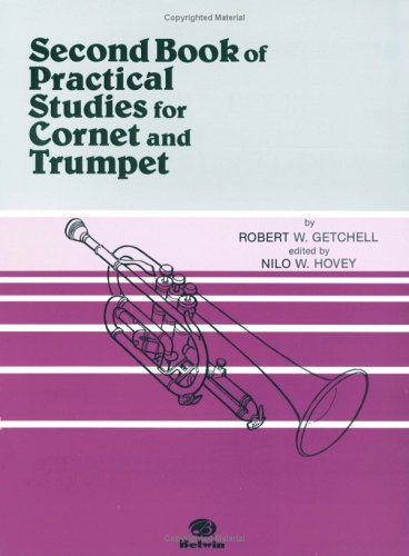 Practical Studies for Cornet and Trumpet, Bk 2   1985 edition cover