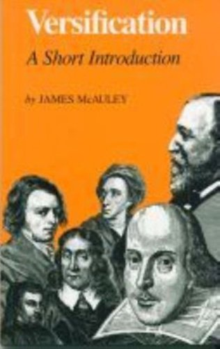 Versification A Short Introduction Reprint edition cover