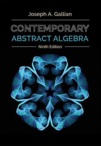 Contemporary Abstract Algebra 9th 2016 9781305657960 Front Cover
