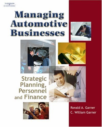 Managing Automotive Businesses Strategic Planning, Personnel and Finances  2006 edition cover