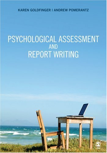 Psychological Assessment and Report Writing   2010 edition cover
