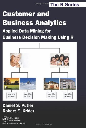 Customer and Business Analytics Applied Data Mining for Business Decision Making Using R  2012 9781466503960 Front Cover
