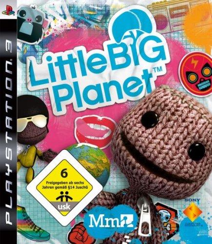 Little Big Planet PlayStation 3 artwork
