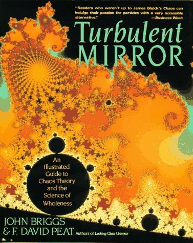 Turbulent Mirror An Illustrated Guide to Chaos Theory and the Science of Wholeness  1990 (Reprint) edition cover