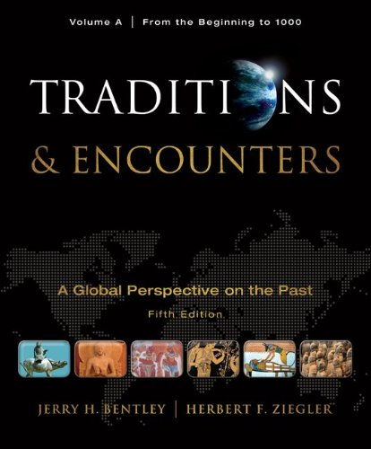 Traditions and Encounters From the Beginning to 1000 5th 2011 edition cover