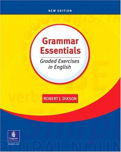 Grammar Essentials Graded Exercises in English 3rd 2004 edition cover