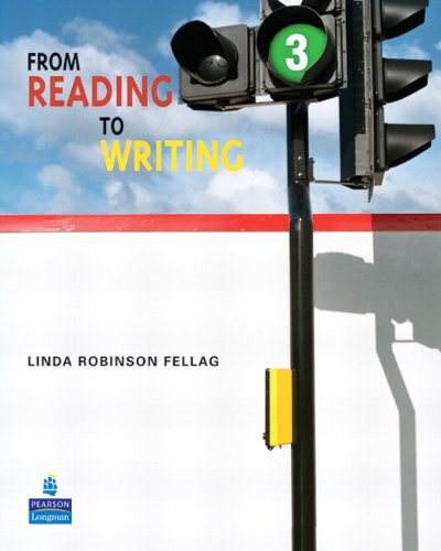 From Reading to Writing   2009 (Student Manual, Study Guide, etc.) edition cover