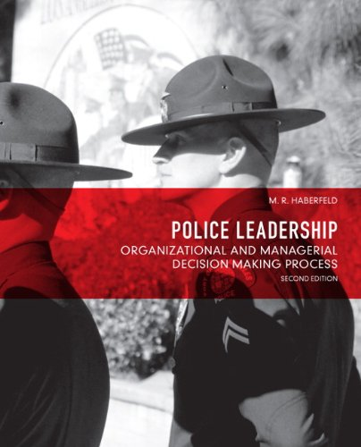 Police Leadership Organizational and Managerial Decision Making Process 2nd 2013 (Revised) edition cover