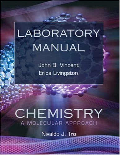 Chemistry A Molecular Approach  2009 (Lab Manual) 9780136006961 Front Cover
