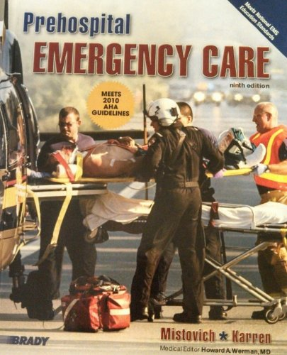 Prehospital Emergency Care and Workbook Package  9th 2010 edition cover