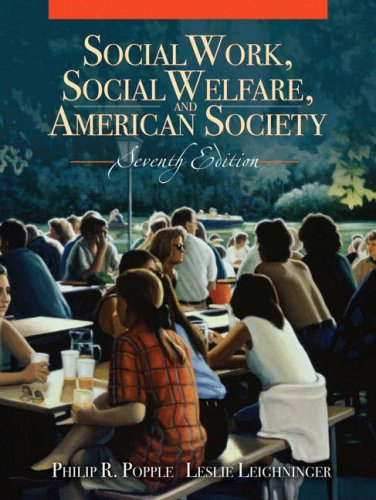 Social Work, Social Welfare, and American Society  7th 2008 edition cover