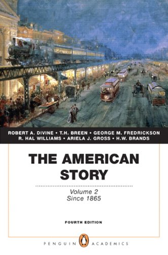 American Story Volume 2 (Penguin Academics Series) 4th 2011 edition cover