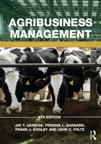 Agribusiness Management  4th 2012 (Revised) edition cover