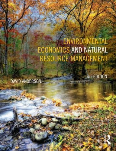Environmental Economics and Natural Resource Management  4th 2014 (Revised) edition cover
