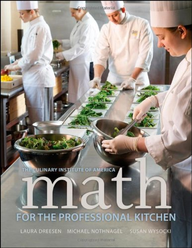 Math for the Professional Kitchen   2011 edition cover