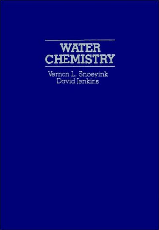 Water Chemistry   1980 edition cover