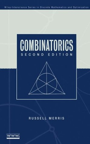 Combinatorics  2nd 2003 (Revised) edition cover