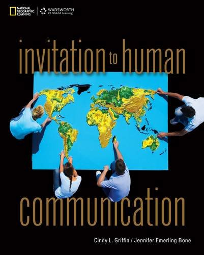 Invitation to Human Communication   2014 edition cover