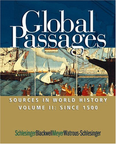 Global Passage Sources in World History, since 1500  2004 edition cover