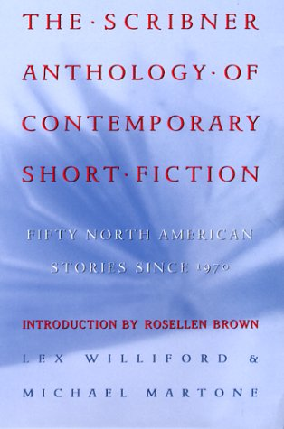 Scribner Anthology of Contemporary Short Fiction Fifty North American Stories since 1970  1999 edition cover