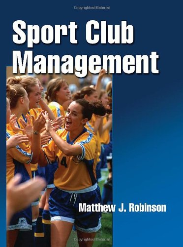 Sport Club Management   2010 edition cover