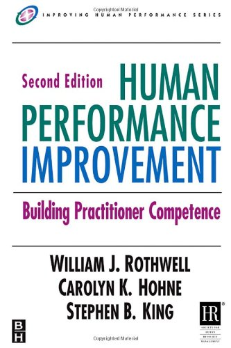 Human Performance Improvement Building Practitioner Competence 2nd 2007 (Revised) edition cover