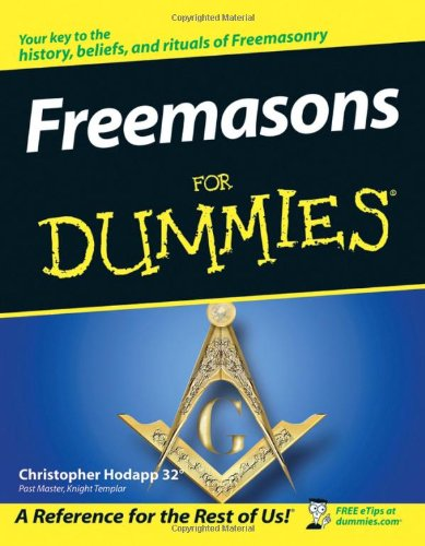 Freemasons for Dummies   2005 edition cover