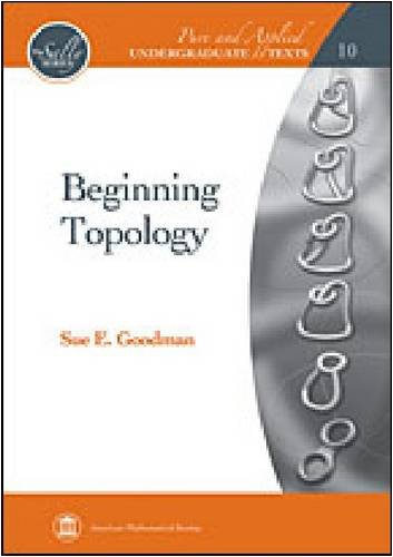 Beginning Topology   2009 edition cover