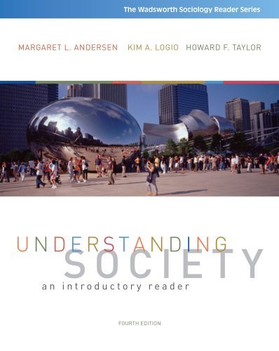 Understanding Society An Introductory Reader 4th 2012 edition cover
