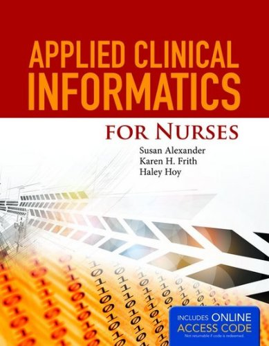 Applied Clinical Informatics for Nurses   2015 edition cover
