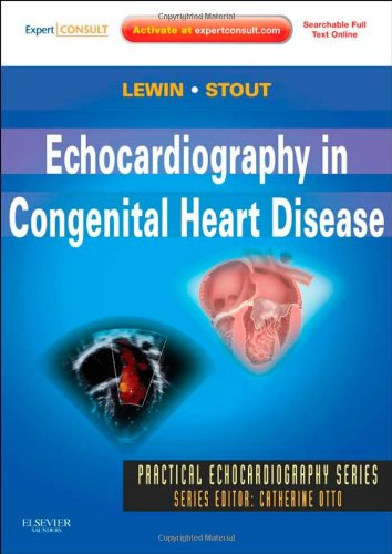 Echocardiography in Congenital Heart Disease   2012 edition cover