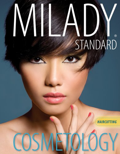 Cosmetology - Haircutting  2nd 2012 edition cover
