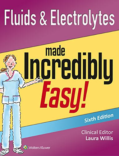 Fluids & Electrolytes Made Incredibly Easy:   2015 edition cover