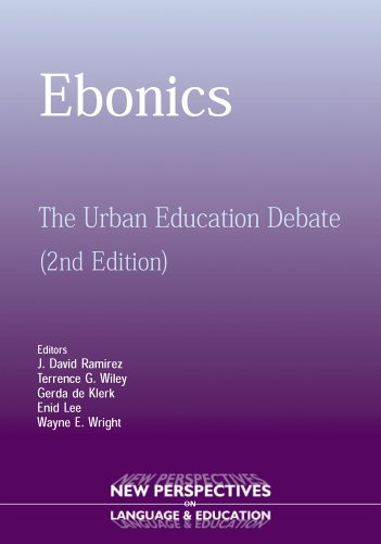 Ebonics The Urban Education Debate 2nd 2005 (Revised) 9781853597961 Front Cover