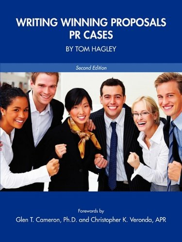 Writing Winning Proposals PR Cases  2009 edition cover