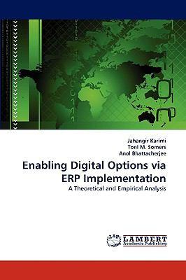 Enabling Digital Options Via Erp Implementation N/A 9783838365961 Front Cover