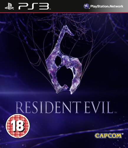 Resident Evil 6 Sony Playstation 3 PS3 Game UK PAL PlayStation 3 artwork