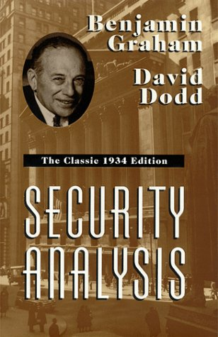 Security Analysis   1997 edition cover