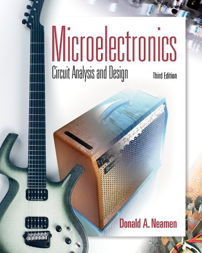 Microelectronic Circuit Analysis and Design  3rd 2007 (Revised) edition cover