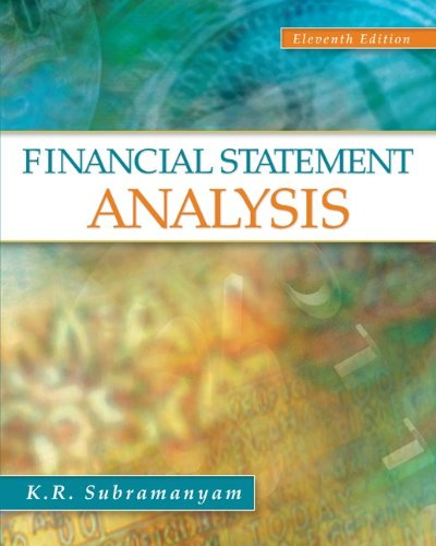 Financial Statement Analysis  11th 2014 edition cover