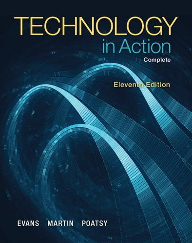 Technology in Action, Complete  11th 2015 edition cover