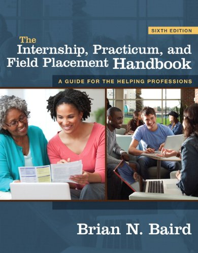 Internship, Practicum, and Field Placement Handbook  6th 2011 edition cover